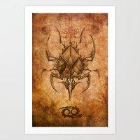 Zodiac: Cancer Art Print
