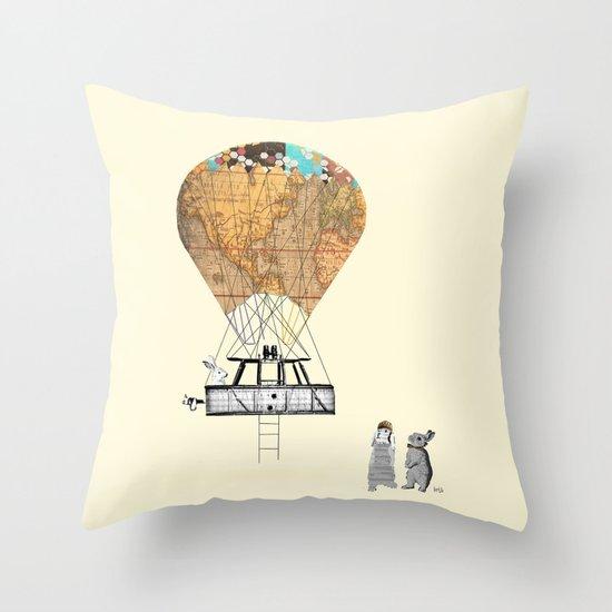 Adventure days  Throw Pillow