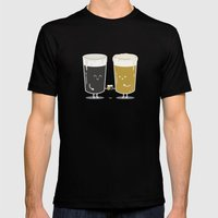 Cheers! Mens Fitted Tee Black SMALL