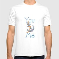 You Anchor Me Mens Fitted Tee White SMALL
