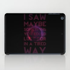 Drainage iPad Case