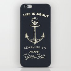 Learn to Adjust your Sail iPhone & iPod Skin