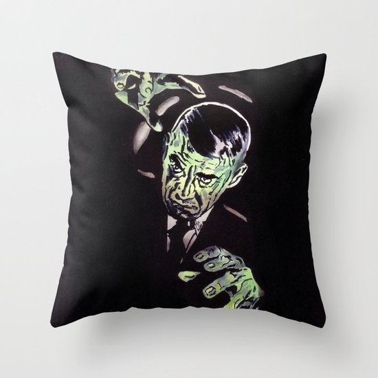 Gruesome Throw Pillow