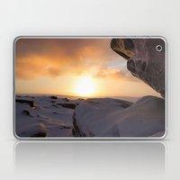 Winter Sunrise on Higger Tor Laptop & iPad Skin