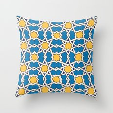 Morocco ornament Throw Pillow