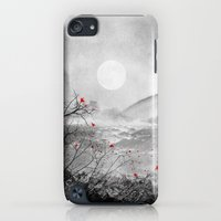 iPod Touch Cases featuring The red sounds and poems, Chapter II by Viviana Gonzalez