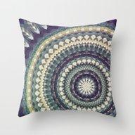 Mandala 111 Throw Pillow