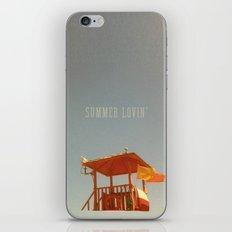 SUMMER LOVIN' iPhone & iPod Skin