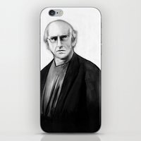 DARK COMEDIANS: Larry David iPhone & iPod Skin