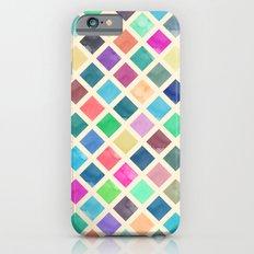 Watercolor geometric pattern iPhone 6 Slim Case