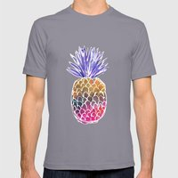 GoodVibes Pineapple Mens Fitted Tee Slate SMALL
