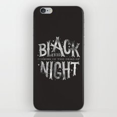 Blackbird iPhone & iPod Skin