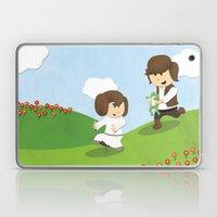 SW Kids - Han Chasing Leia Laptop & iPad Skin
