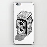 Rolleiflex iPhone & iPod Skin