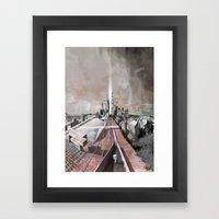 Paris d'avenir 2 Framed Art Print