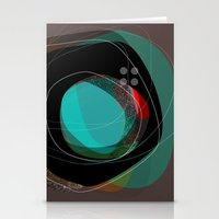 the abstract dream 8 Stationery Cards
