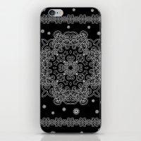Elegant Black and White Mandala Case iPhone & iPod Skin