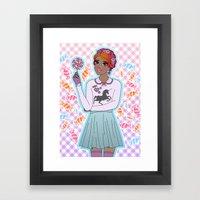 Sweeter Than Candy Framed Art Print