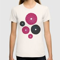 Sea's Design - Urchin Sk… Womens Fitted Tee Natural SMALL