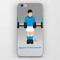 Manchester City table football (Fossball) iPhone & iPod Skin