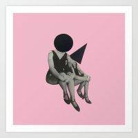 Pink Opaque Art Print