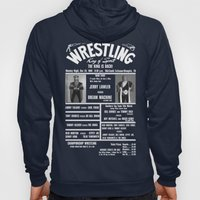 #9-B Memphis Wrestling Window Card Hoody