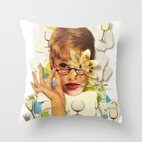 Blaise | Collage Throw Pillow