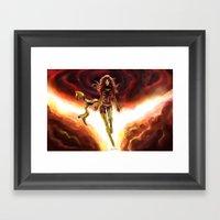 X-men-Phoenix... Framed Art Print