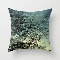 Starry Sky Throw Pillow