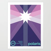Polaris Single Hop Art Print
