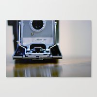 Polaroid Land Canvas Print