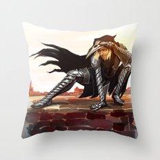 Antivan Crow Throw Pillow