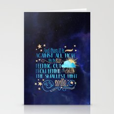 These Broken Stars - Smile Stationery Cards
