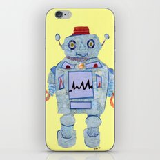 Robot Robotic! iPhone & iPod Skin