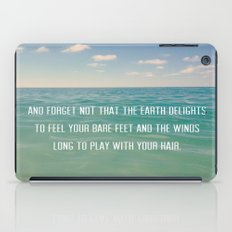 Oceanic Inspiration iPad Case