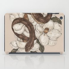Snake And Magnolias iPad Case
