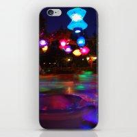 Teacups Blur at Night iPhone & iPod Skin