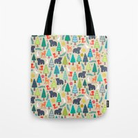 summer woodland Tote Bag