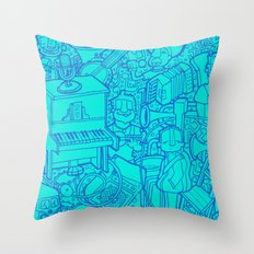 #MoleskineDaily_48 Throw Pillow