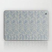 Freeform Arrows In Navy Laptop & iPad Skin