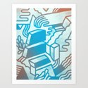 Building Blocks Art Print