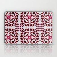 Lotus Floral Tile Patter… Laptop & iPad Skin