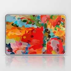 color bubble storm Laptop & iPad Skin