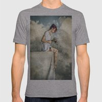 When Dreams Die Mens Fitted Tee Athletic Grey SMALL