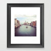 Hello Venice! Framed Art Print
