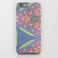 Cornucopia of Colorful Drippy Painted Flowers iPhone 6 Slim Case