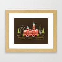 Samford Hall Framed Art Print