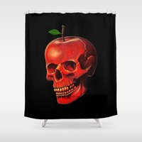 Fruit of Life Shower Curtain