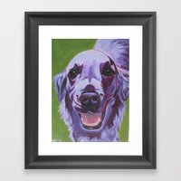 Sheila Girl Framed Art Print