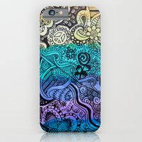 Watercolor Doodle iPhone 6 Slim Case